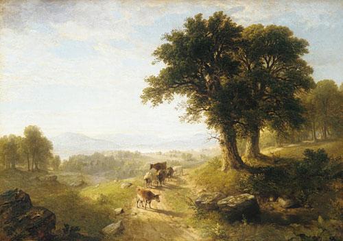 River Scene 1854 | Asher B Durand | Oil Painting