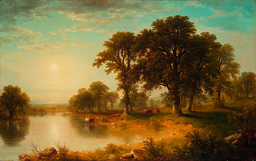 Summer Afternoon 1865 | Asher B Durand | Oil Painting