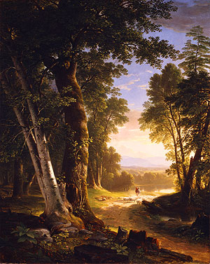The Beeches 1845 | Asher B Durand | Oil Painting