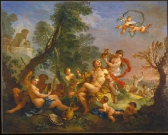 Bacchanal 1747 | Charles Joseph Natoire | Oil Painting