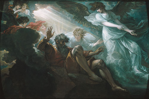 Moses Shown the Promised Land 1801 | Benjamin West | Oil Painting