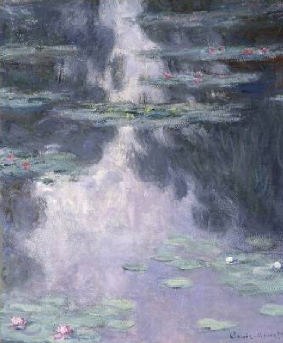 Water Lilies (Nymphes) 1907 | Claude Monet | Oil Painting