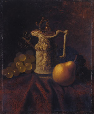 Still Life with Ewer and Fruit | Carducius Plantagenet Ream | Oil Painting