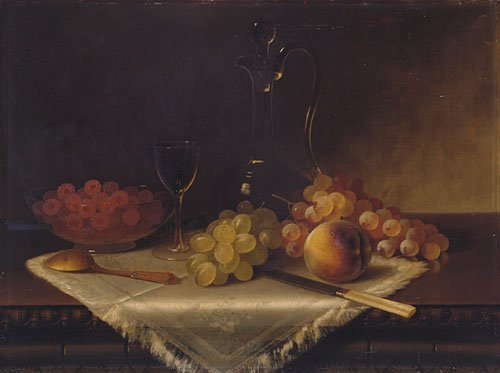 Still Life with Fruit | Carducius Plantagenet Ream | Oil Painting