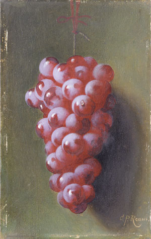 Still Life with Grapes | Carducius Plantagenet Ream | Oil Painting
