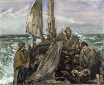 The Toilers of the Sea 1873 | Edouard Manet | Oil Painting