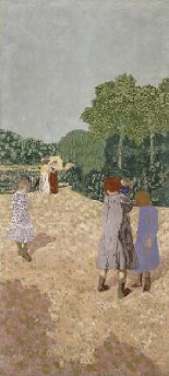The Promenade 1894 | Edouard Vuillard | Oil Painting