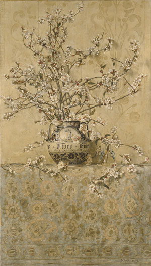 Apple Blossoms 1889 | Charles Caryl Coleman | Oil Painting