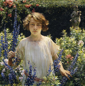 Betty Newell 1922 | Charles Courtney Curran | Oil Painting