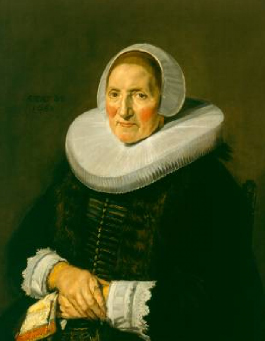 Portrait of an Elderly Woman 1650 | Frans Hals | Oil Painting