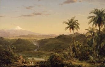 Cotopaxi 1855   Frederic Edwin Church   Oil Painting