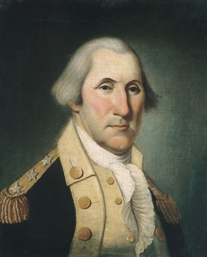 George Washington 1790 | Charles Peale Polk | Oil Painting
