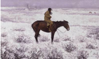The Herd Boy 1905 | Frederic S Remington | Oil Painting