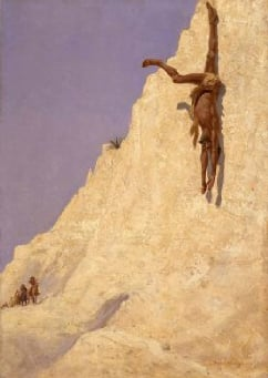 The Transgressor 1891 | Frederic S Remington | Oil Painting