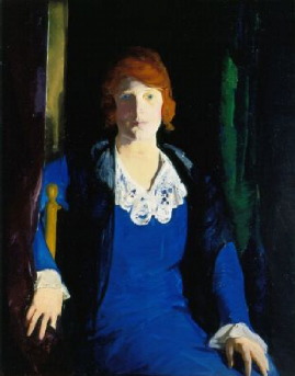 Portrait of Florence Pierce 1914 | George Bellows | Oil Painting