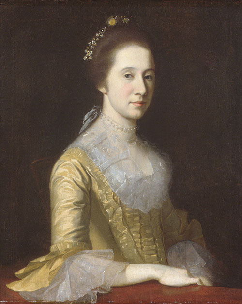Margaret Strachan 1771 | Charles Willson Peale | Oil Painting