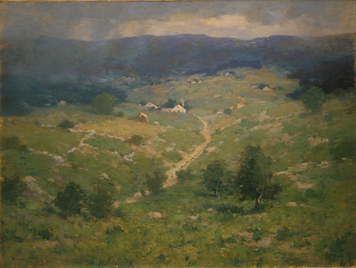 Clearing Off after 1887   Charlotte Buell Coman   Oil Painting