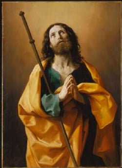Saint James the Greater 1636 38 | Guido Reni | Oil Painting