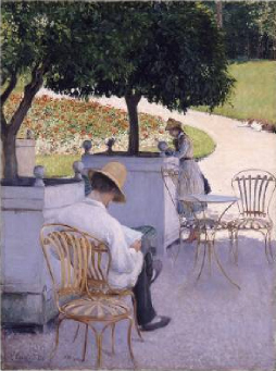 The Orange Trees 1878 | Gustave Caillebotte | Oil Painting