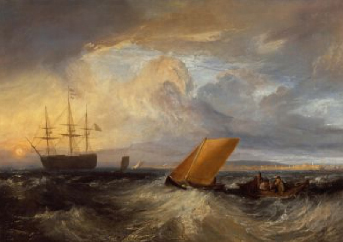 Sheerness as seen from the Nore 1808 | J. M. W. Turner | Oil Painting