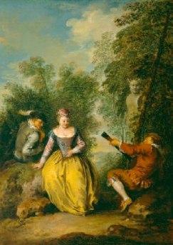 A Pastoral Concert 1725 | Jean Baptiste Pater | Oil Painting