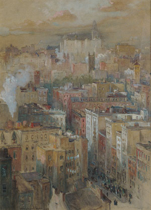 View of New York City | Colin Campbell Cooper | Oil Painting