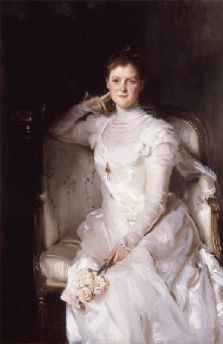 Mrs Joshua Montgomery Sears 1899 | John Singer Sargent | Oil Painting