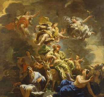 Allegory of Prudence 1682 | Luca Giordano | Oil Painting