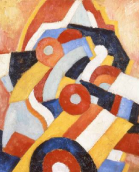 Abstraction 1914 | Marsden Hartley | Oil Painting