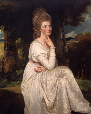 Lady Elizabeth Hamilton Countess of Derby 1776 | George Romney | Oil Painting
