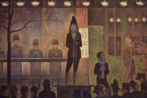 Circus Sideshow | Georges Pierre Seurat | Oil Painting