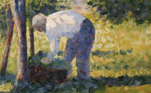 The Gardener | Georges Pierre Seurat | Oil Painting