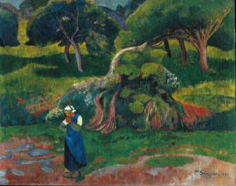 Landscape at Le Pouldu 1890 | Paul Serusier | Oil Painting