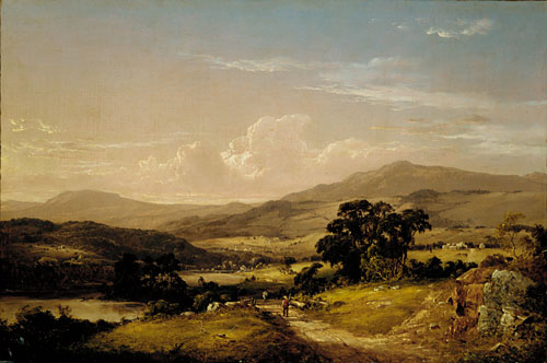 Near Squam Lake New Hampshire 1856 | David Johnson | Oil Painting
