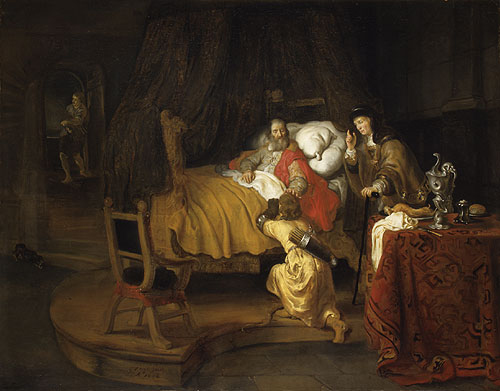 Isaac Blessing Jacob 1642 | Gerbrand van den Eeckhout | Oil Painting
