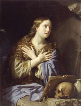 The Repentant Magdalen 1648 | Philippe de Champaigne | Oil Painting