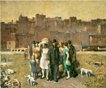 The Exodus 1928 | Robert Spencer | Oil Painting