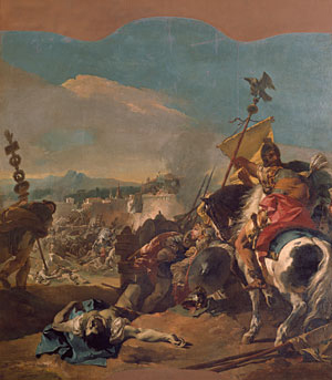The Capture of Carthage 1725 | Giovanni Battista Tiepolo | Oil Painting