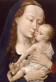Virgin and Child After 1454 | Rogier van der Weyden | Oil Painting