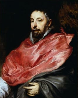 Portrait of Antoine Triest Bishop of Ghent 1627 | Sir Anthony van Dyck | Oil Painting