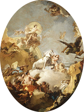 The Chariot of Aurora | Giovanni Battista Tiepolo | Oil Painting