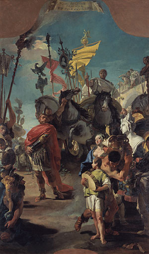 The Triumph of Marius 1729 | Giovanni Battista Tiepolo | Oil Painting