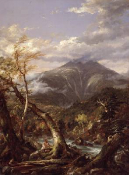 Indian Pass 1847 | Thomas Cole | Oil Painting