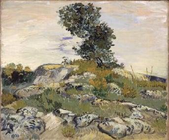 The Rocks 1888 | Vincent van Gogh | Oil Painting