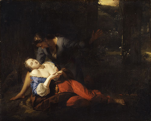 Cephalus and Procris | Godfried Schalcken | Oil Painting