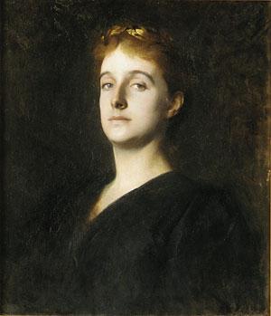 Eleanor Hardy Bunker 1890   Dennis Miller Bunker   Oil Painting