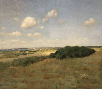 Sunlight and Shadow Shinnecock Hills 1895 | William Merritt Chase | Oil Painting