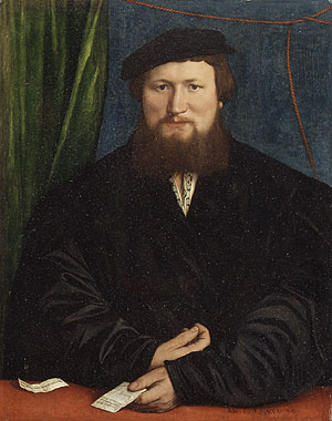 Derek Berck 1536 | Hans Holbein the Younger | Oil Painting