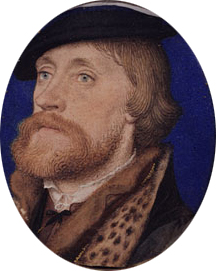 Thomas Wriothesley  First Earl of Southampton ca. 1535 | Hans Holbein the Younger | Oil Painting
