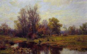 Woodland Scene | Hugh Bolton Jones | Oil Painting